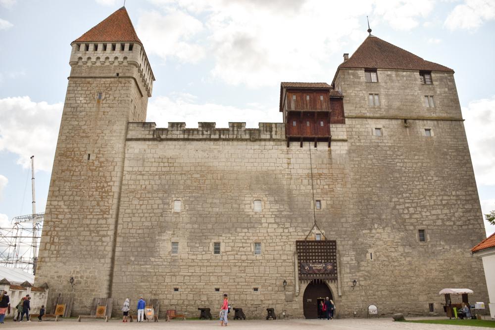 Insel Muhu Estland Burg Kuressaare