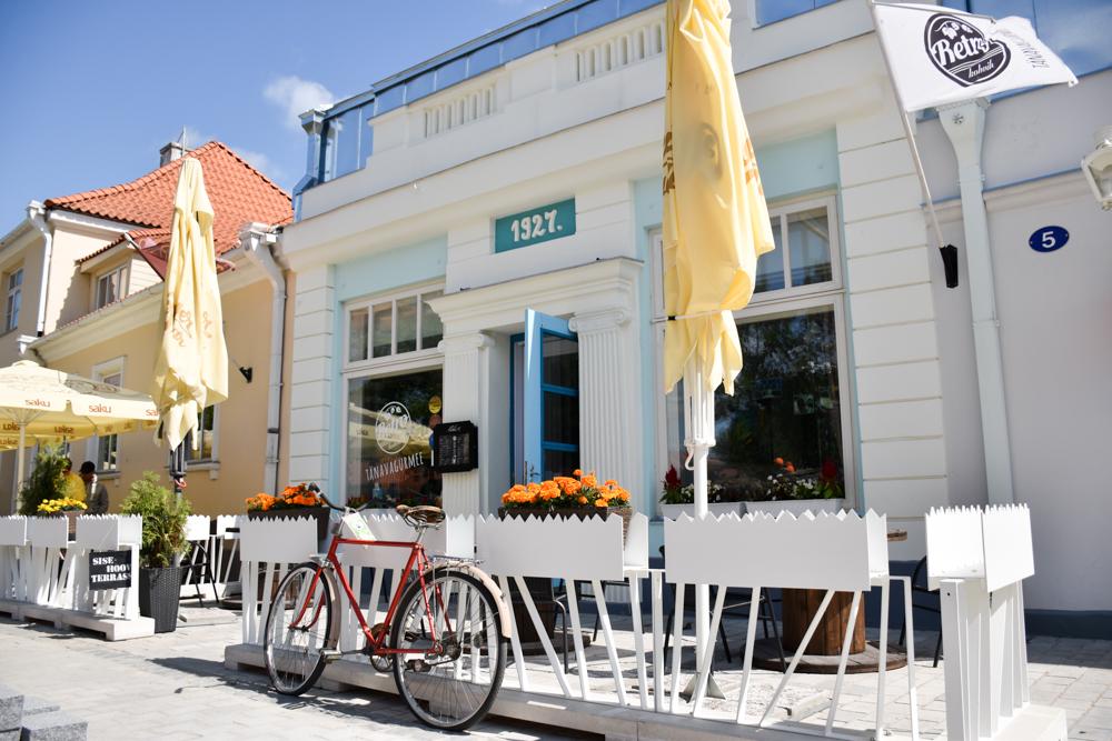 Insel Muhu Estland Retro Restaurant Kuressaare