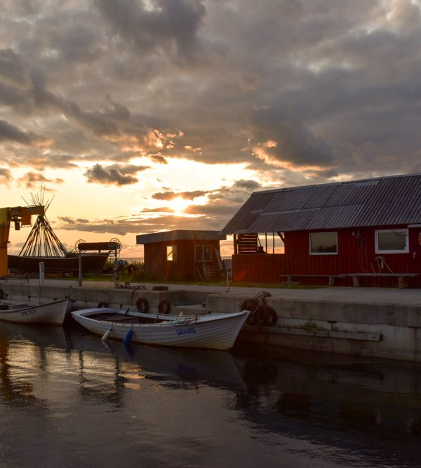 Insel Muhu Estland Sonnenuntergang Koguva