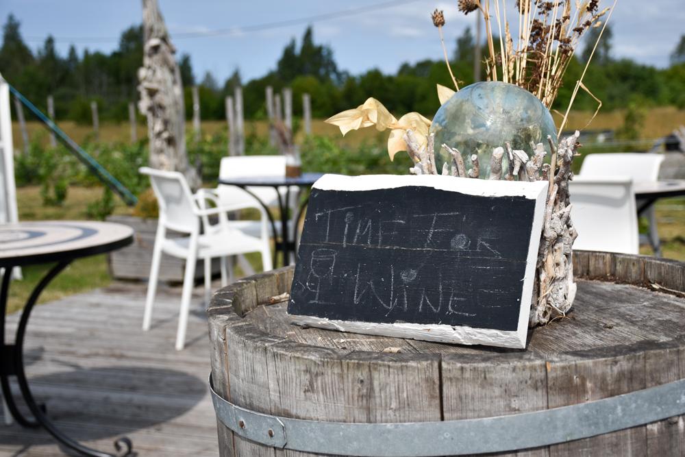 Insel Muhu Estland Weingut Luscher Matiesen