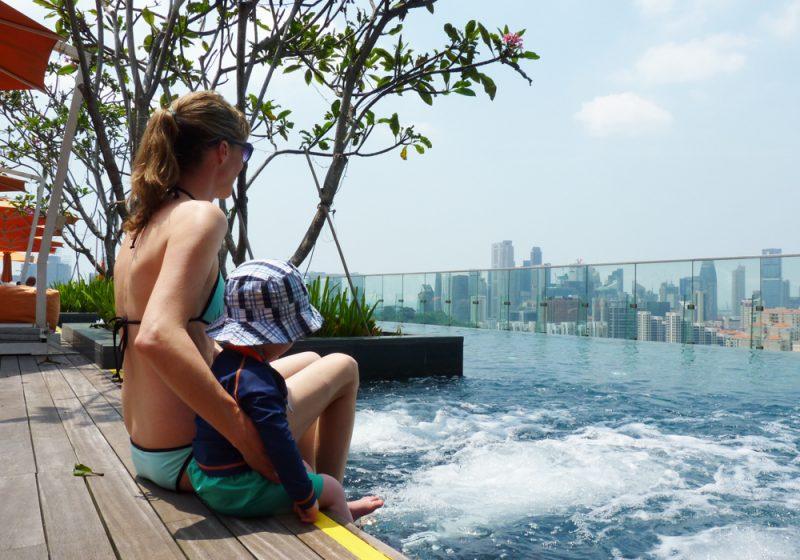 Reisen mit Baby und Kleinkind Tipps Singapur