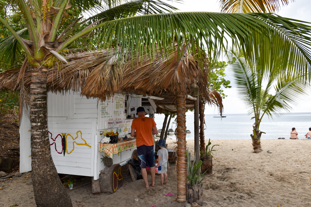 Strand-Guide Guadeloupe Food Truck Plage Petite Anse