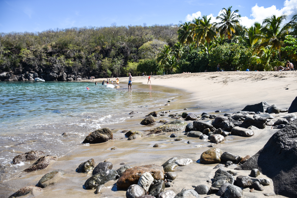 Strand-Guide Guadeloupe Plage Petite Anse