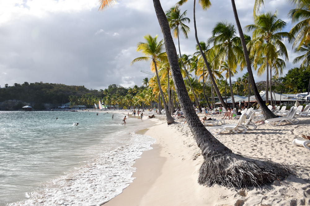 Strand-Guide Guadeloupe Strand beim Club Med Hotel in Saint-Anne
