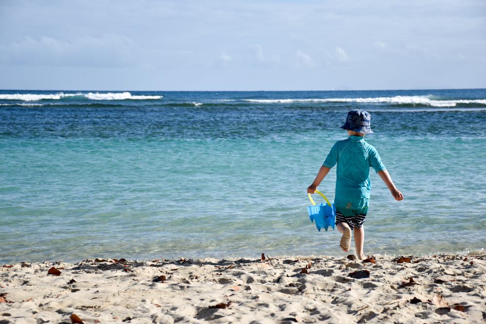 Strand-Guide Guadeloupe kinderfreundlicher Strand Saint-Anne