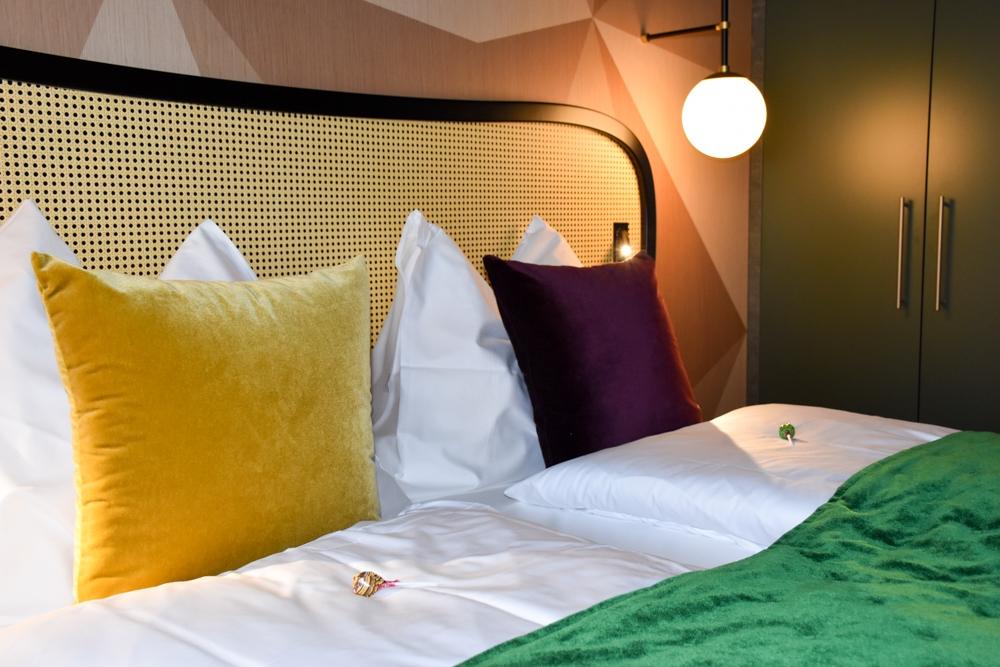 Hoteltipp Flims Schweiz The Hide Hotel Bett