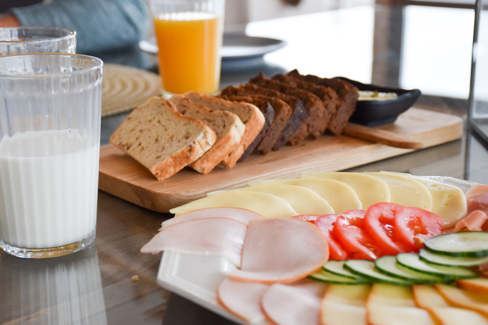 Hoteltipp Muhu Estland Bottengarn Boutique Guesthouse Frühstück mit Muhu Brot