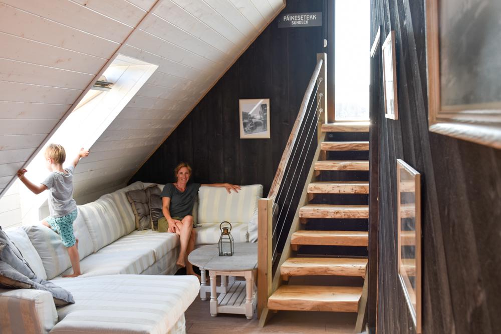 Hoteltipp Muhu Estland Bottengarn Boutique Guesthouse Gemeinschaftslounge