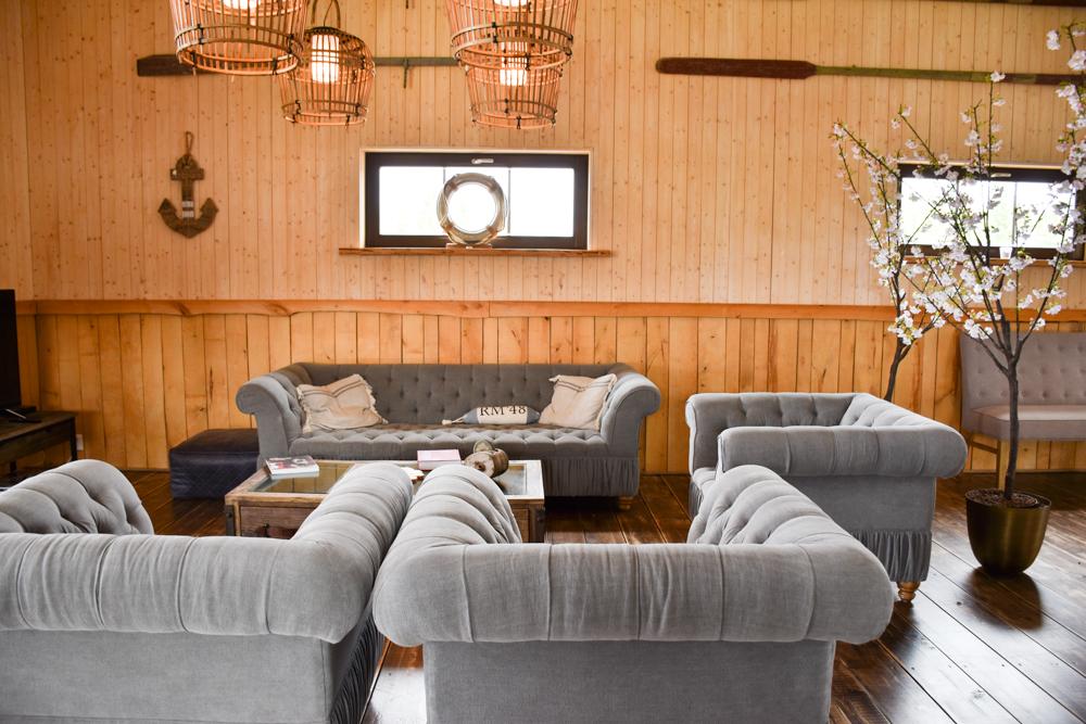 Hoteltipp Muhu Estland Bottengarn Boutique Guesthouse Gemeinschaftsraum