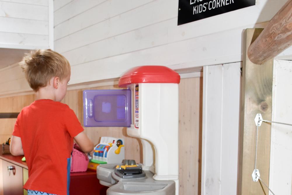 Hoteltipp Muhu Estland Bottengarn Boutique Guesthouse Spieleck für Kinder