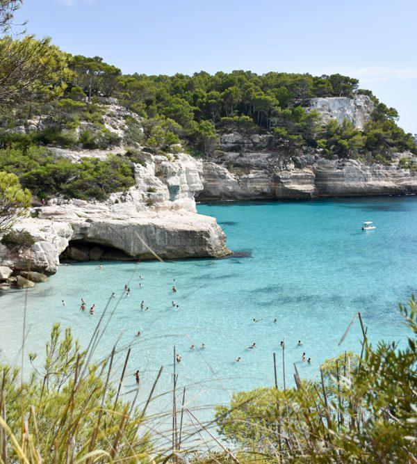 Menorca Reisetipps Highlights Unterkünfte Restaurants Cala Mitjana