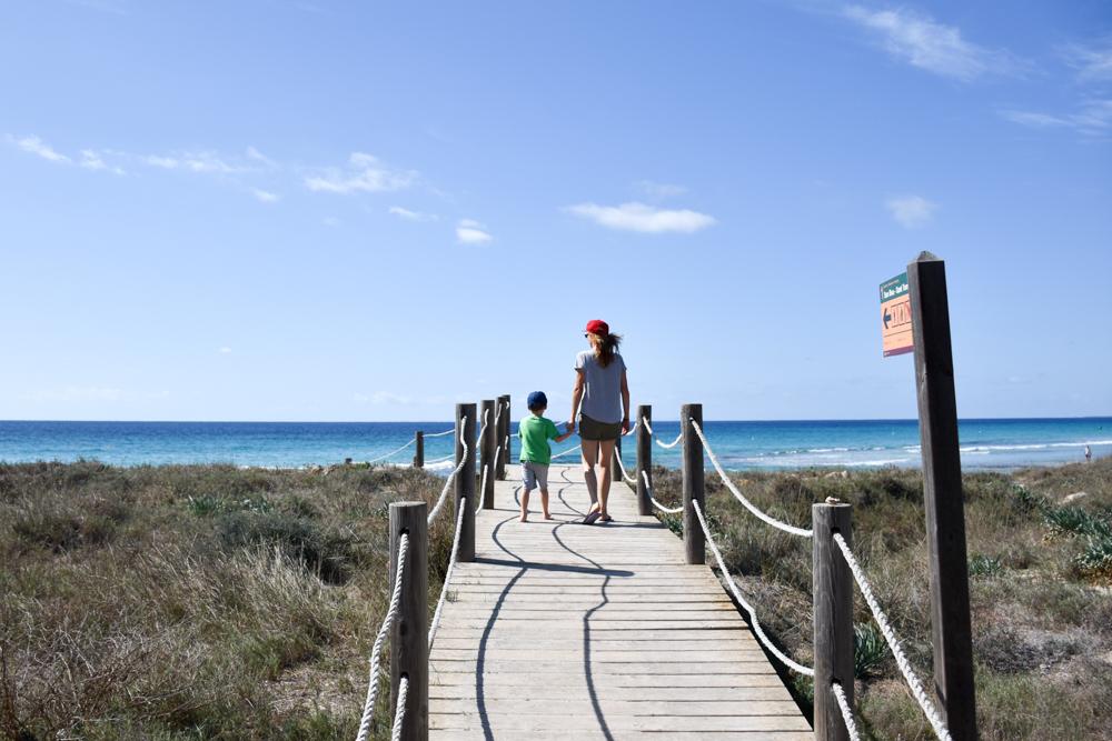 Menorca Reisetipps Highlights Unterkünfte Restaurants Der Weg zum Strand Son Bou