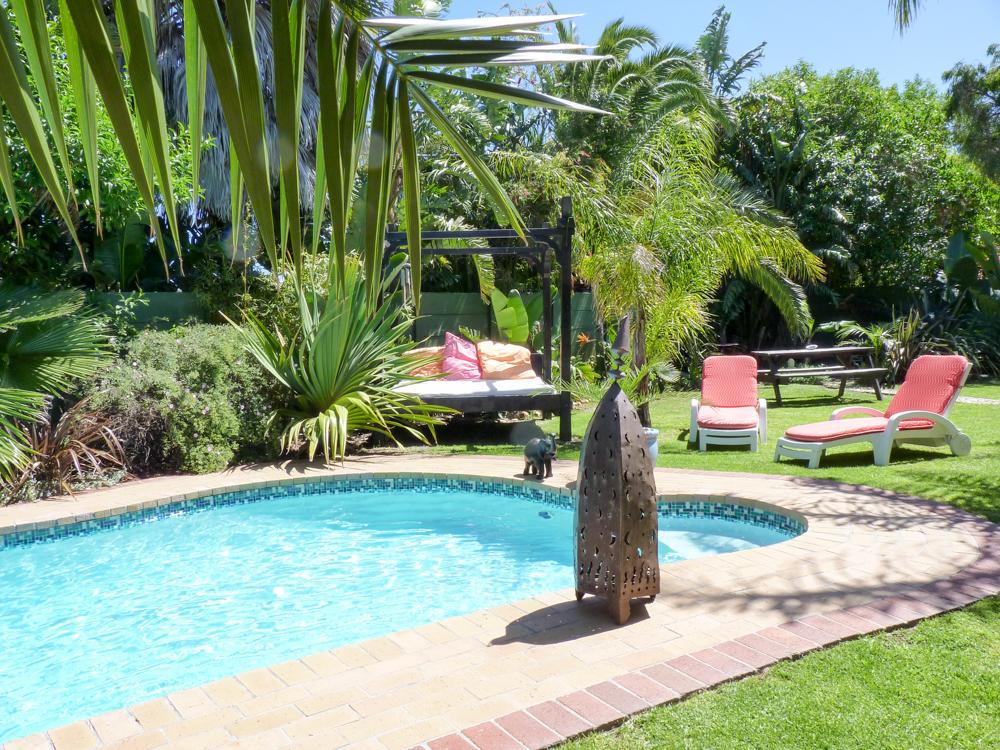 Auswanderung nach Südafrika Garten elements Lodge