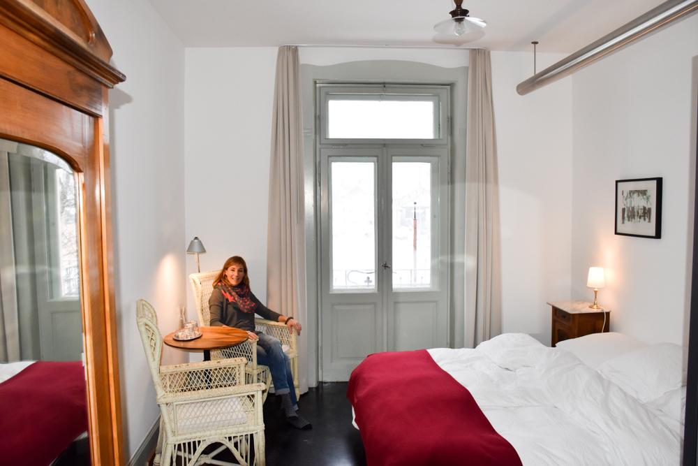 Hoteltipp Bergün Graubünden Schweiz Kurhaus Bergün Travel Sisi im Zimmer