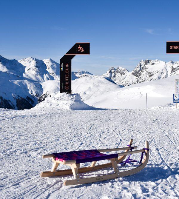 Die besten Schlittelbahnen in Graubünden