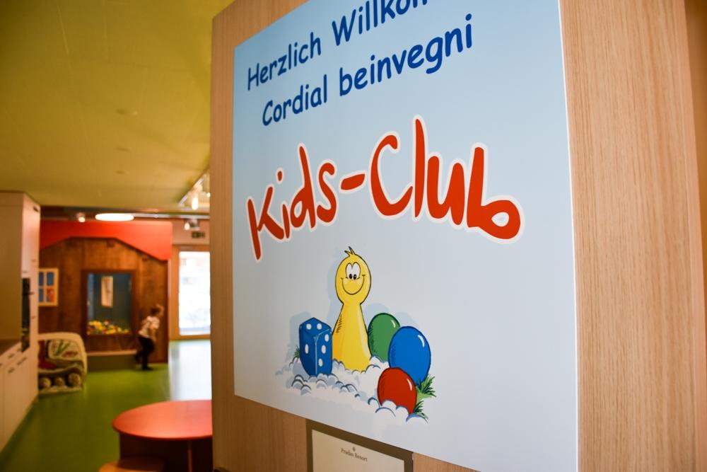 Unterkunftstipp Brigels Graubünden Schweiz Pradas Resort Kids Club