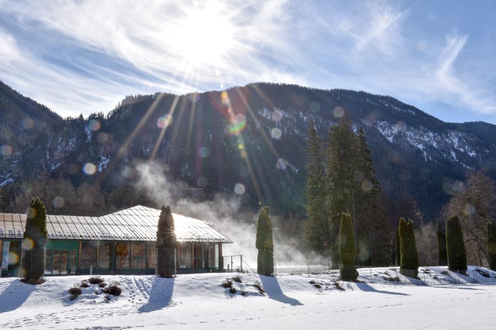 Winter Weekend Savognin Graubünden Schweiz Bad Alvaneu