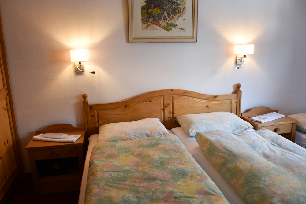 Winter Weekend Savognin Graubünden Schweiz Doppelzimmer Hotel La Riva