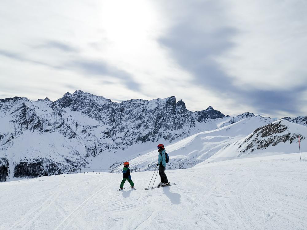 Winter Weekend familienfreundliches Savognin Graubünden Schweiz