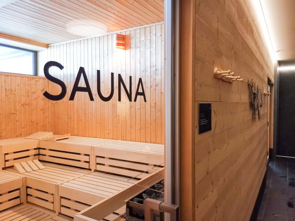 Catrina Resort Unterkunfttipp Disentis Graubünden Schweiz Sauna Wellnessbereich