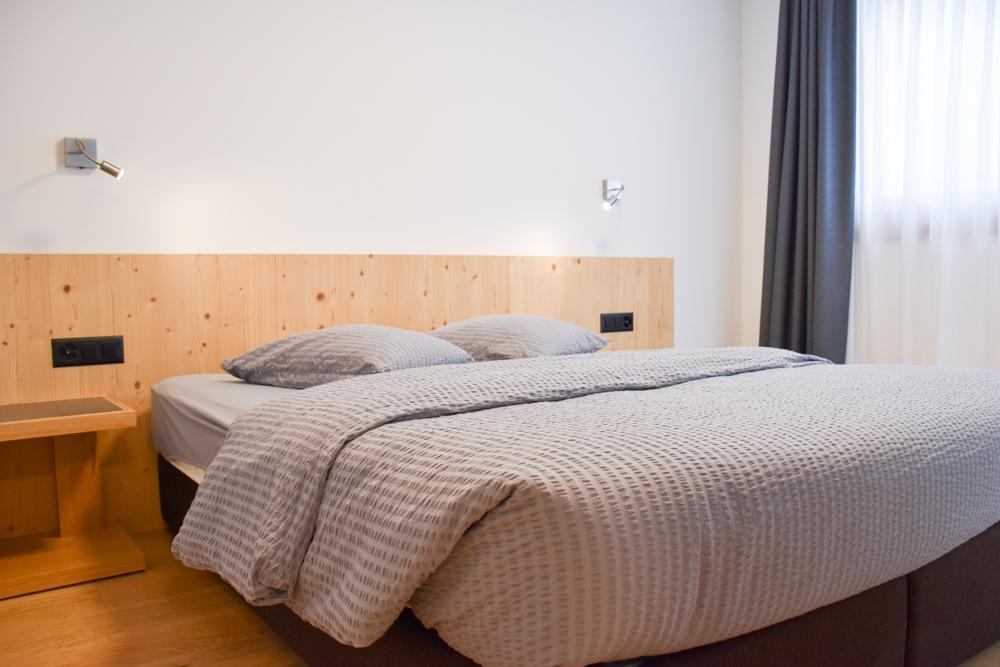 Catrina Resort Unterkunfttipp Disentis Graubünden Schweiz Schlafzimmer