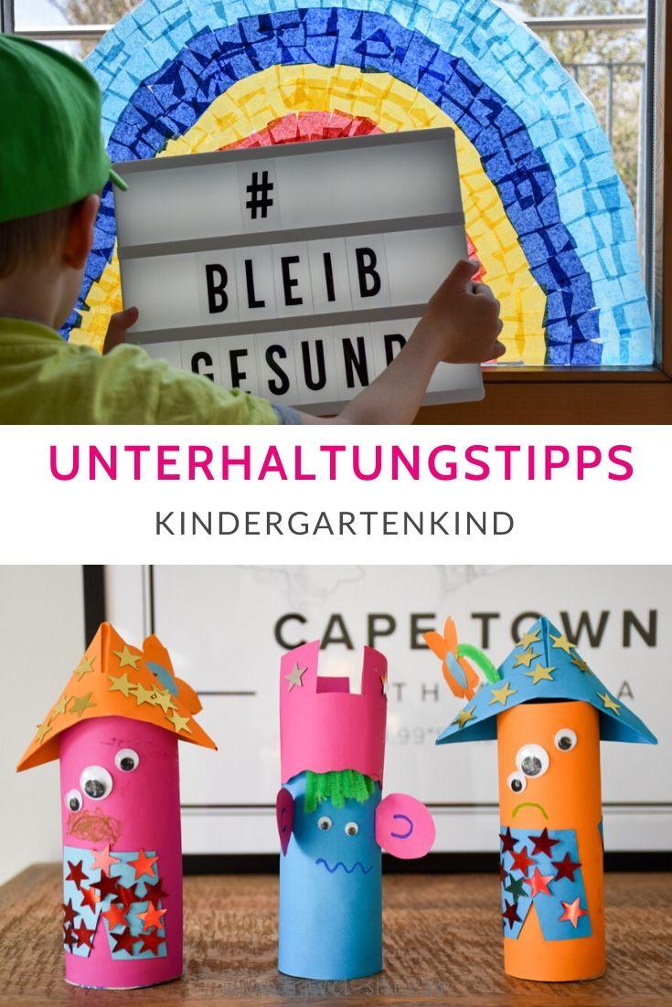 Unterhaltungstipps Kindergartenkind Coronakrise