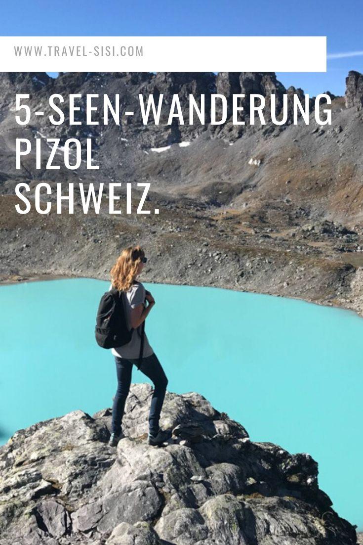 5-Seen-Wanderung Pizol St. Gallen Schweiz