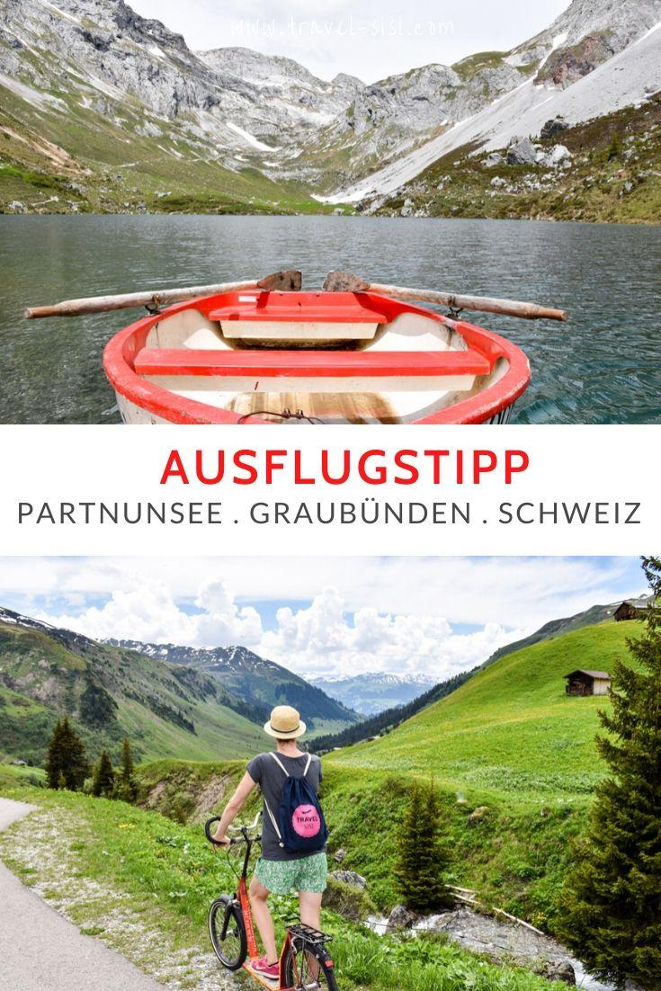 Ausflugstipp Partnunsee Graubünden Schweiz