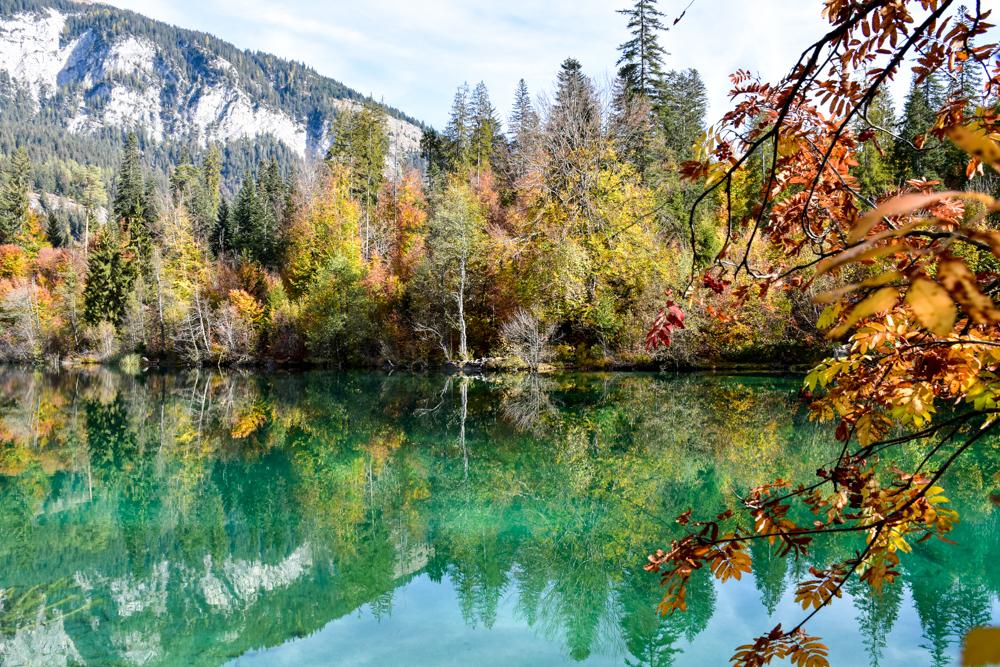 Die schönsten Seen der Schweiz Crestasee Graubünden