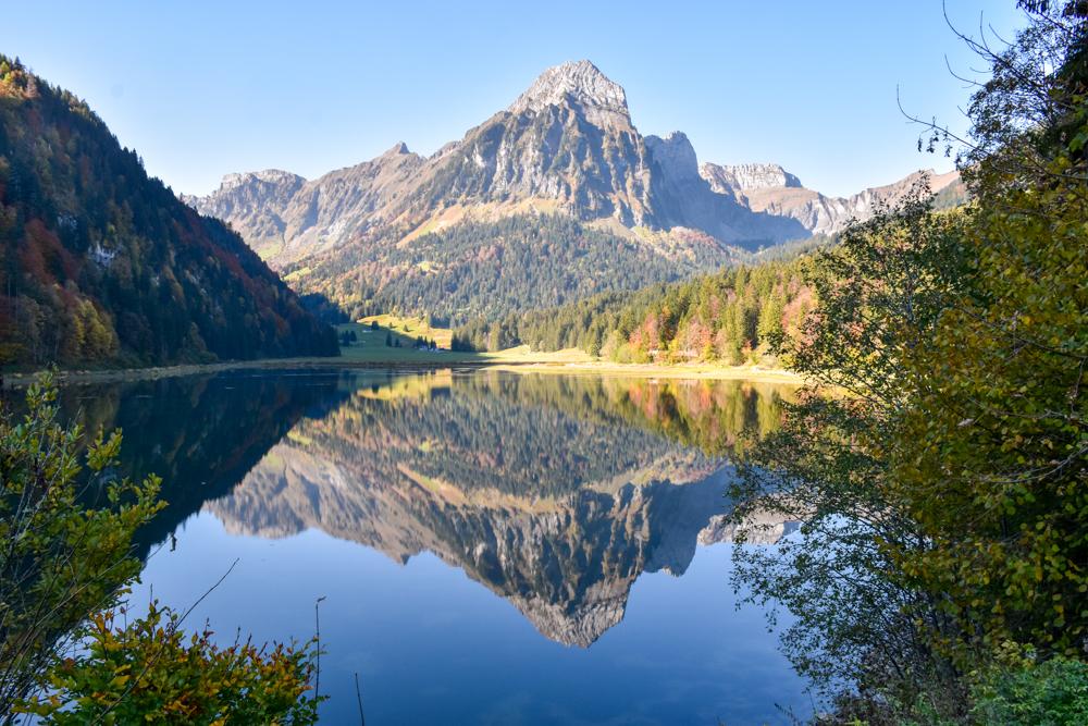 Die schönsten Seen der Schweiz Obersee Glarus