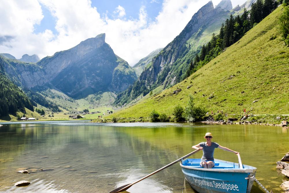 Die schönsten Seen der Schweiz Seealpsee Appenzell