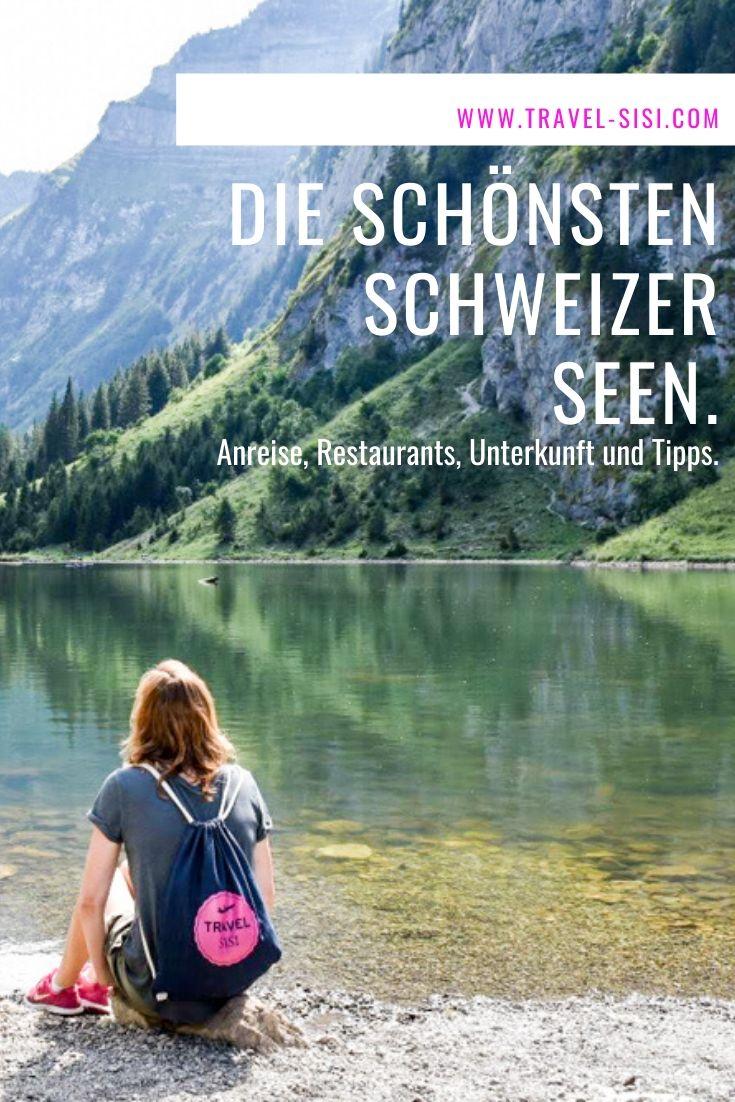 Schönste Schweizer Seen