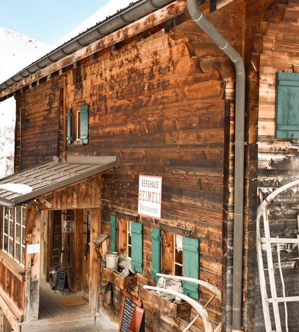 Unterkunft Sapün Arosa Schweiz: Speziell übernachten im Berghaus Heimeli