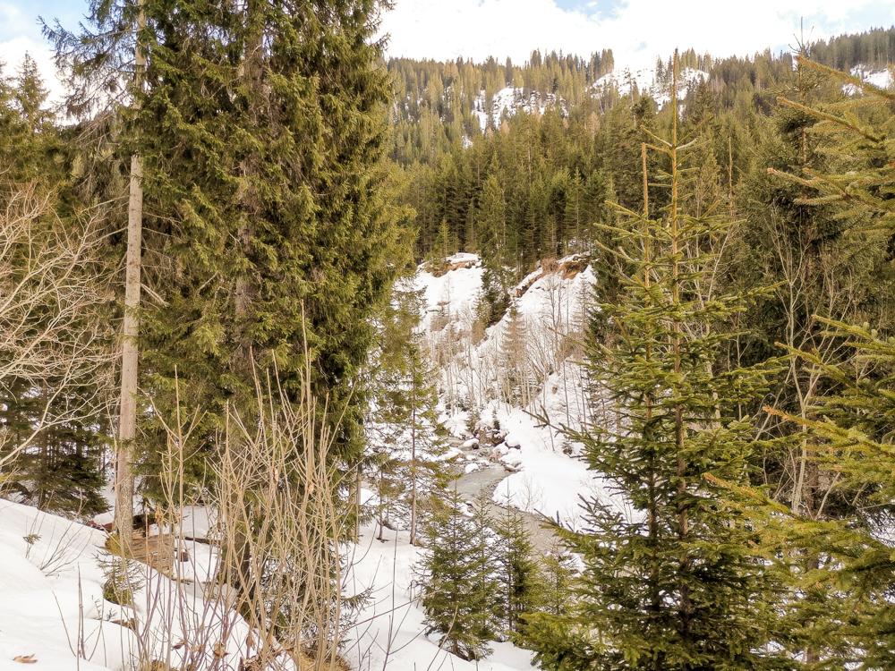 Unterkunftstipp Heimeli Sapün Arosa Graubünden Schweiz -Wanderung durchs Sapünertal