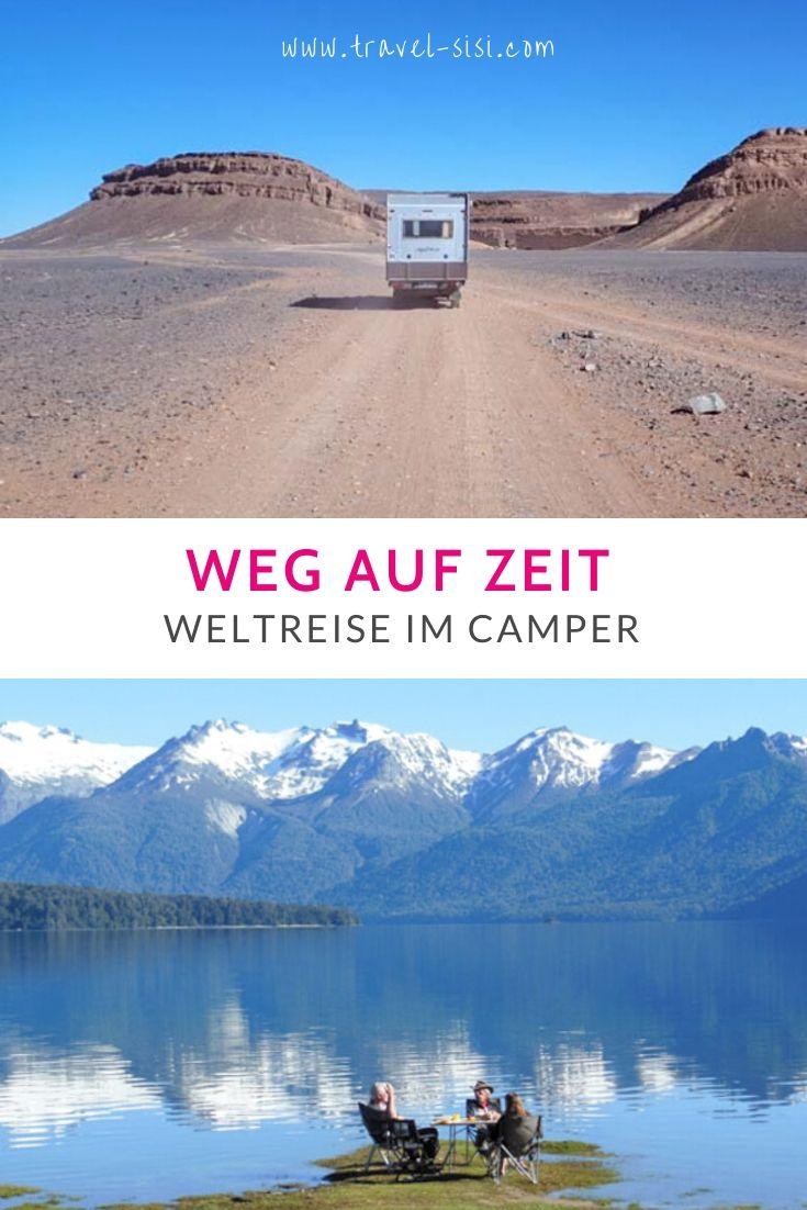 Weg auf Zeit Weltreise im Camper