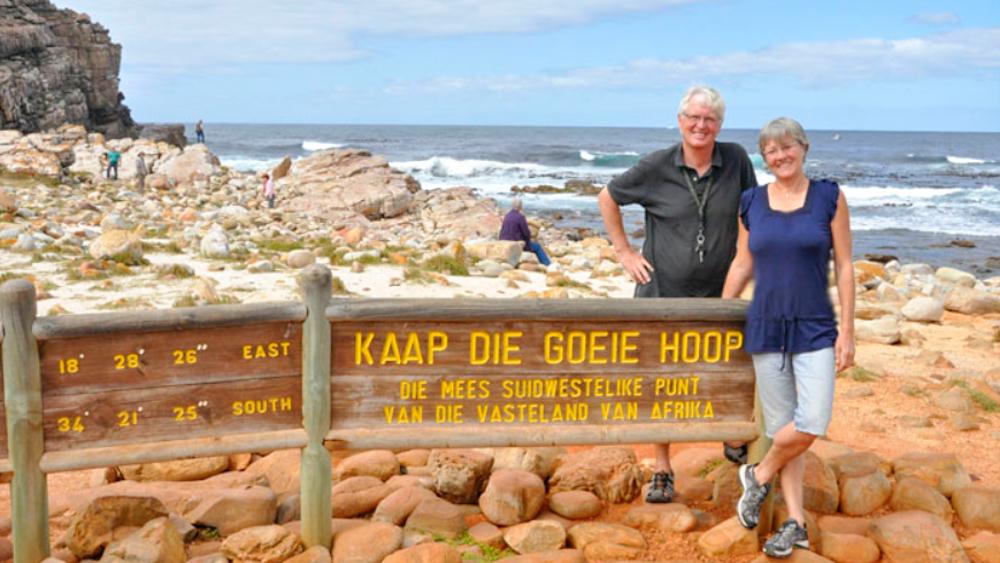Weltreise im Camper Weg auf Zeit Kap der guten Hoffnung Südafrika