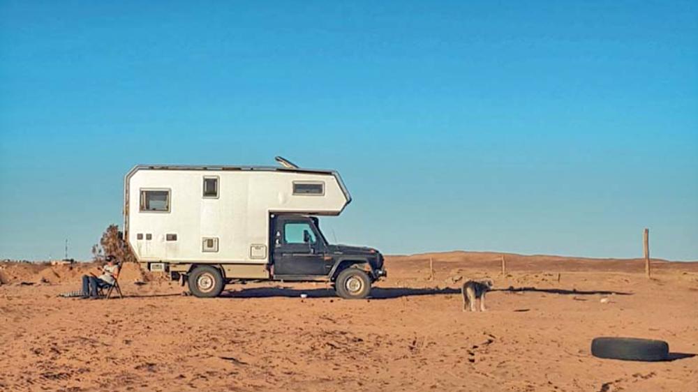 Weltreise im Camper Weg auf Zeit Marokko