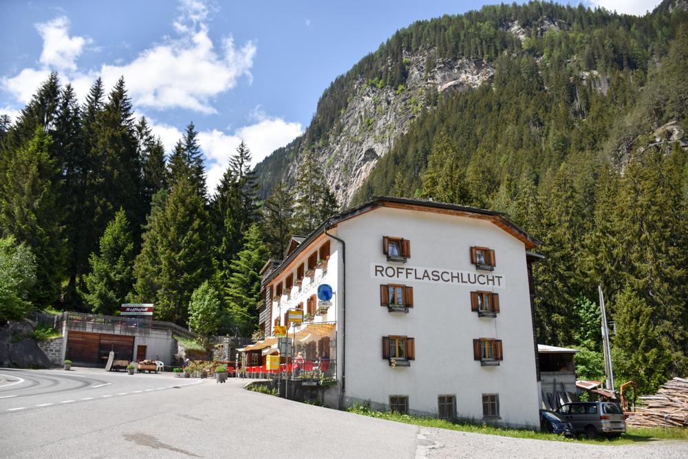 Ausflugstipp Rofflaschlucht Graubünden Schweiz Restaurant Hotel und Museum