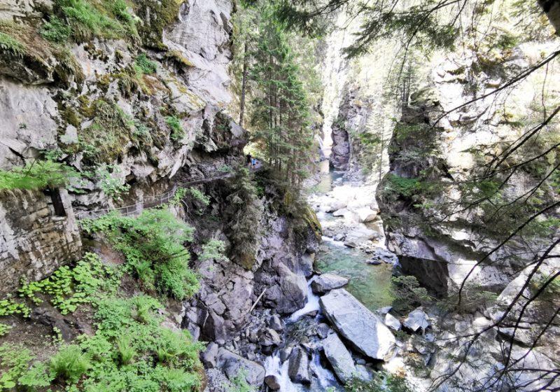 Ausflugstipp Rofflaschlucht Viamala Graubünden Schweiz