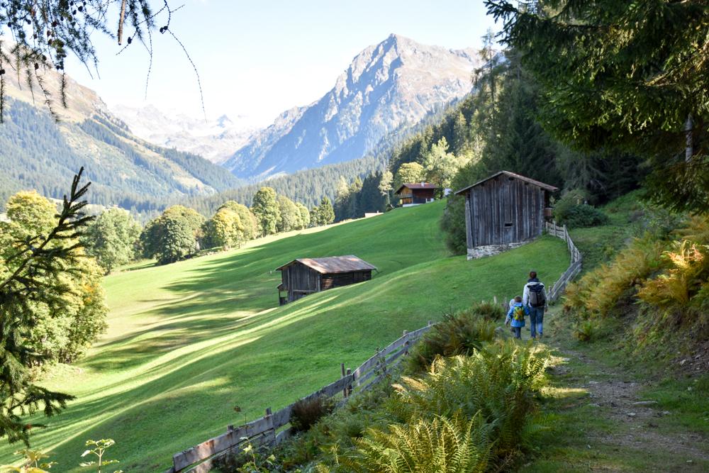 Ausflugstipp Zwergenweg Klosters Graubünden Schweiz Rückweg