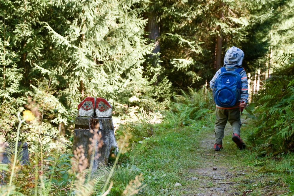 Ausflugstipp Zwergenweg Klosters Graubünden Schweiz