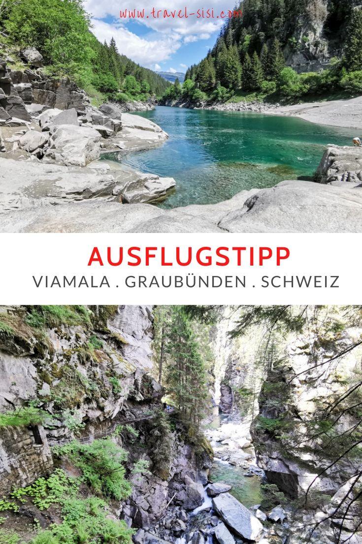 Ausflugstipp Rofflaschlucht Viamala Schams Graubünden Schweiz