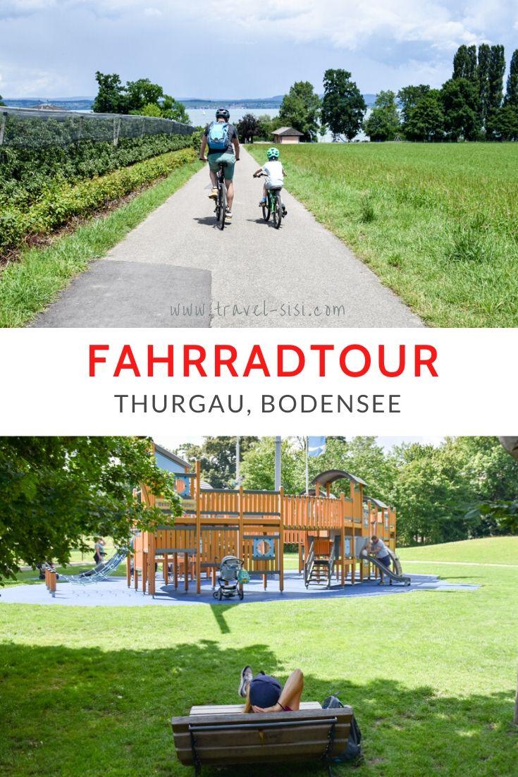 Fahrradtour mit Kind Thurgau Bodensee