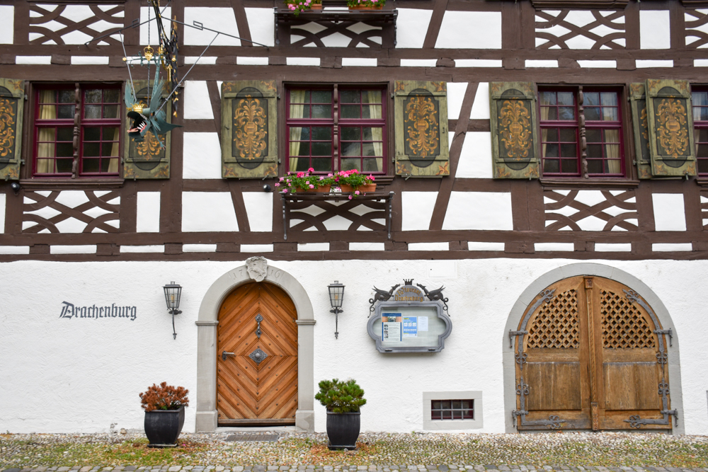 Familienfreundliche Fahrradtour Thurgau Bodensee Drachenburg Gottlieben
