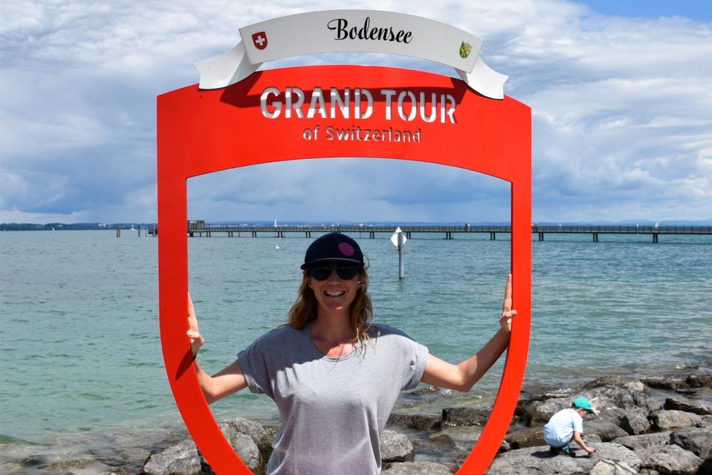 Familienfreundliche Fahrradtour Thurgau Bodensee Grand Tour of Switzerland Fotospot