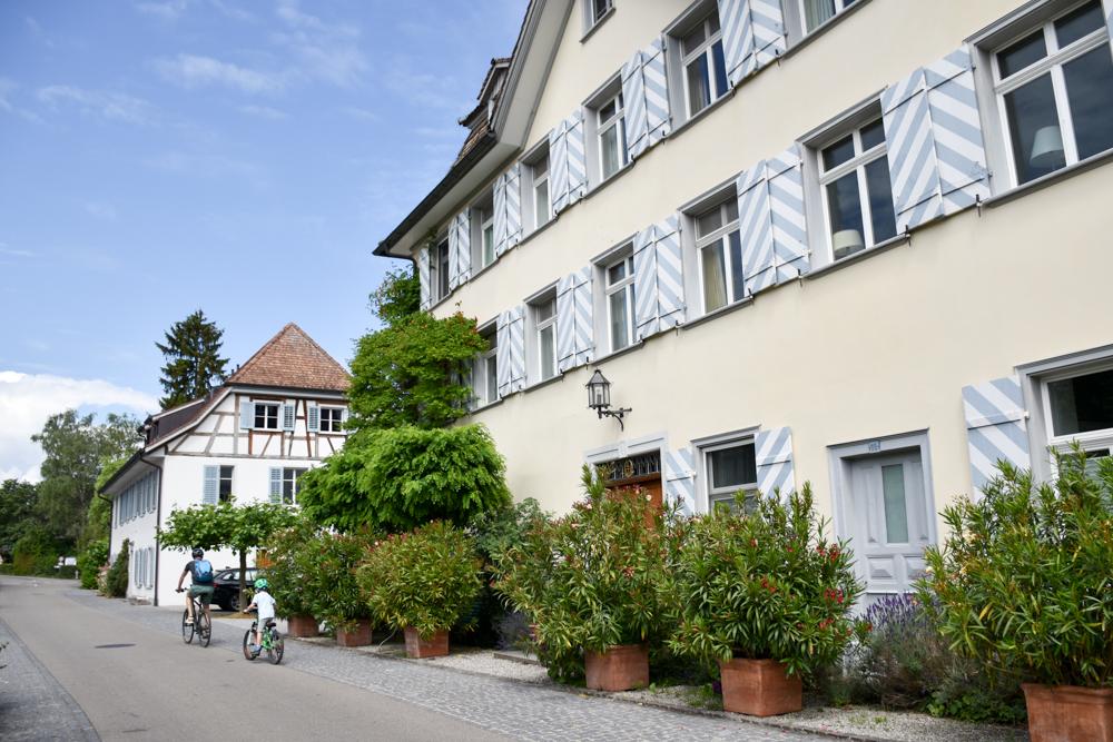 Familienfreundliche Fahrradtour Thurgau Bodensee Riegelhaus Bodensee