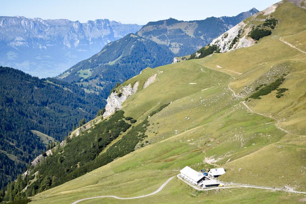 Wanderung Liechtenstein Fürstin-Gina-Weg Pfälzerhütte Alp Gritsch