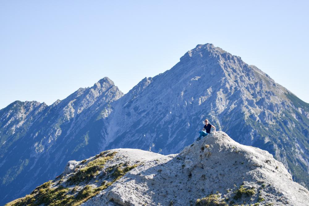 Wanderung Liechtenstein Fürstin-Gina-Weg Pfälzerhütte Travel Sisi Esther Mattle in den Liechtensteiner Bergen