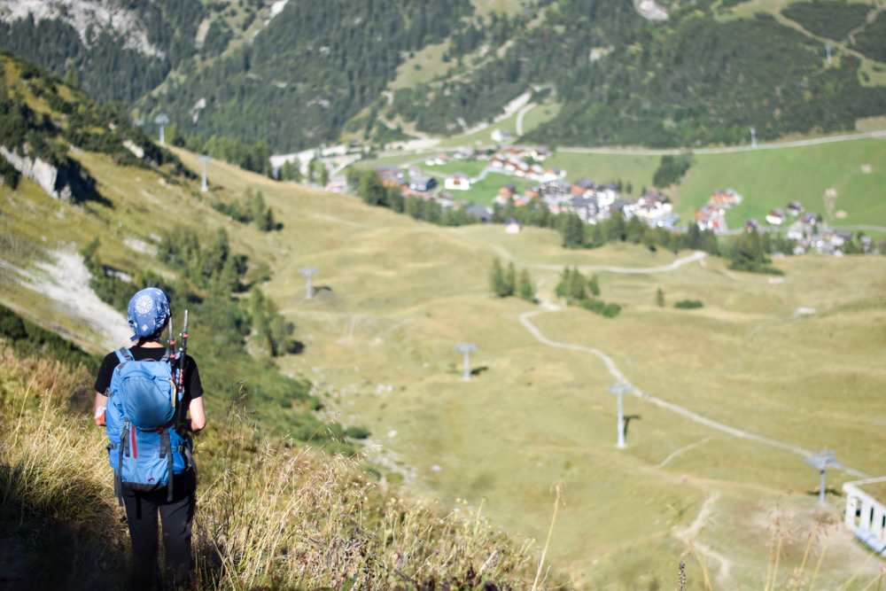 Wanderung Liechtenstein Fürstin-Gina-Weg Pfälzerhütte Wanderung über die Tälihöhe