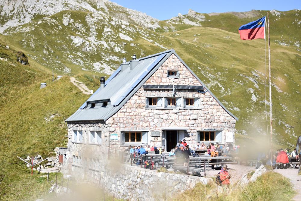 Wanderung Liechtenstein Fürstin-Gina-Weg Pfälzerhütte